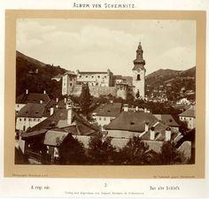 Weissbach und Co., Slovakia, Album von Schemnitz (Banská Štiavnica). Das Alte Schloss #Europe_Est #Tchécoslovaquie_Ceskoslovensk