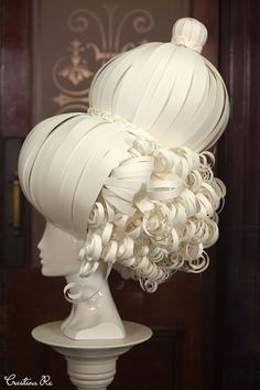 https://www.facebook.com/cristinaredesign #Stunning #papercouture #headpieces were #created by #CristinaRe #Melbourne #fashion #MSFW #papercraft #craft #create #design #MarieAntoinette #beautiful #french #spring #dress #headpiece