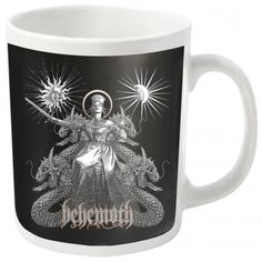 Behemoth: Evangelion (cana) Metalhead, Mugs, Tableware, Dinnerware, Tumblers, Tablewares, Mug, Dishes, Place Settings