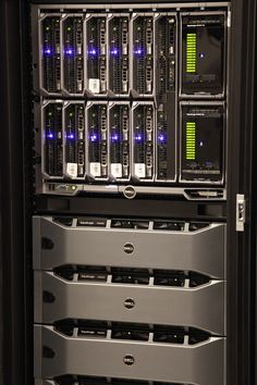 Dell EqualLogic PS-M4110 Blade Array with up to 14TB per array, up to 28TB per group inside the blade chassis.