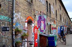 Christiania in Copenhagen, Denmark