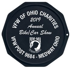 The Original Custom Imprinted Motorcycle Coaster® American Legion Riders, Green Knight, Motorcycle Clubs, Military Discounts, Car Show, Charity, Ohio, Coasters, Printed