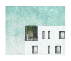 'The oblique housing project'_The balcony_Elia Loupasaki_Year 5_Kingston University_MArch