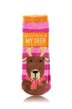Bath /& Body Works  Shea Infused Lounge Socks Non-Slip Grip Bottom U Choose