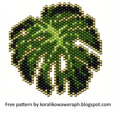 Seed Bead Patterns, Beaded Jewelry Patterns, Peyote Patterns, Beading Patterns, Beaded Crafts, Beaded Ornaments, Free Beading Tutorials, Bead Sewing, Peyote Beading