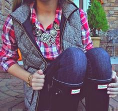 preppy style Love love love this outfit.