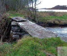 Achnamara clapper bridge, Knapdale. Scotland History, Scottish Gaelic, My Heritage, Gypsy Soul, Oh The Places You'll Go, Pathways, Garden Bridge, Sassy, Britain