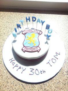 Aston Villa Cake Decorations