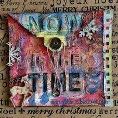 Karen Bearse Designs: Christmas Envelope Page for December Daily