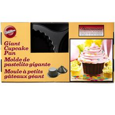 Everyone loves cupcakes—why not make a cake shaped like one? With this pan, you can bake a ...
