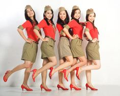 Viet Jet flight attendants