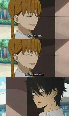 This is how you react to being friend-zoned! Hahaha Haru! Tonari no Kaibutsu-kun