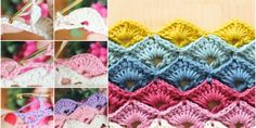 ➤ How to make the Crochet Box Stitch (FREE PATTERNS) ~ ✁ C K Crafts