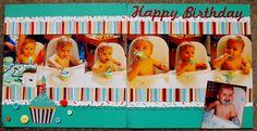 Happy Birthday Ian's cake page - Scrapbook.com