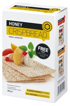 Crispy Crispbread on Packaging of the World - Creative Package Design Gallery