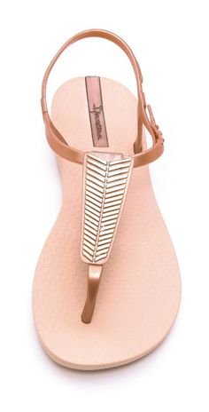 Fashion, Clothing, Shoes: Six shapes of compound your summer sandals that will make you look comfortable and chic Ipanema Sandals, Ipanema Flip Flops, Girls Flip Flops, Shoe Boots, Shoes Heels, Rose Gold Sandals, Beaded Sandals, Sandals Outfit, Over 50 Womens Fashion