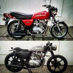 Before and after #kawasaki440