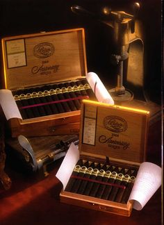 Padron 1964 boxes. Beautiful cigars!