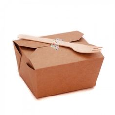 Small Brown Kraft Party Food Boxes