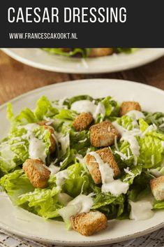 Quiches, Veggie Recipes, Salad Recipes, Cesar Dressing, Comfort Food, Salad Dressing Recipes, Avocado Salad, Food And Drink, Veggies
