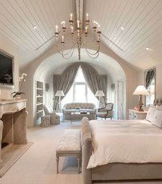 50 Luxury Bedroom Design Ideas that you Definitely want for your Dream Home - roomiet. - 50 Luxury Bedroom Design Ideas that you Definitely want for your Dream Home 50 Luxury Bedroom Design Ideas that you Definitely want for your Dream Home Design # - Dream Rooms, Dream Bedroom, Home Bedroom, Modern Bedroom, Bedroom Decor, Contemporary Bedroom, Bedroom Romantic, Bedroom Seating, Bedroom Neutral