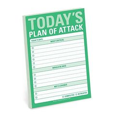 Knock Knock Today's Plan of Attack Great Big Stickies by ... https://www.amazon.com/dp/1601067755/ref=cm_sw_r_pi_dp_x_rEkYzbK6CPW9K