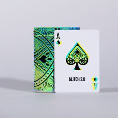 Reality Bending Art Playing Cards // GLITCH Version 2.0 - glitchier than ever! Printed with ♥ by LPCC