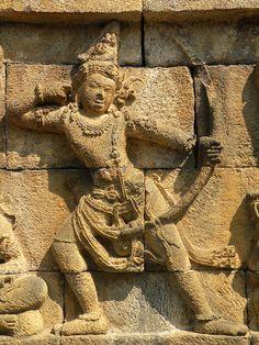Borobudur Indonesia Ancient Artefacts, Ancient Civilizations, Islamic Art Pattern, Pattern Art, Asian Sculptures, Borobudur Temple, Indonesian Art, Javanese, God Pictures