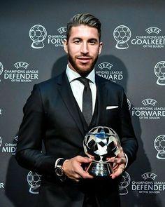 #madbien @sergioramos Congratulations/Felicitaciones  Best UEFA Defender of Year