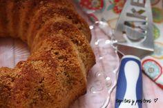 Tapitas y Postres: Bizcocho de harina de arroz (sin gluten y sin lactosa)