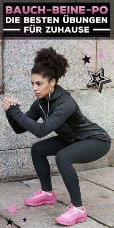 Die fünf effektivsten Bauch-Beine-Po-Übungen für Zuhause