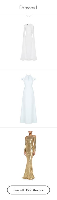 """""""Dresses1"""" by l-r-warda ❤ liked on Polyvore featuring dresses, gowns, alex perry, white ball gowns, floor length dresses, floor length evening gown, open-back dresses, floor length evening dresses, cutout dresses and draped evening gown"""