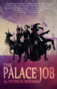 The Palace Job by Patrick Weekes, http://www.amazon.com/gp/product/B009CI7CES/ref=cm_sw_r_pi_alp_2HfFqb1QARKR5