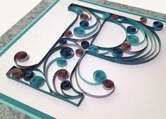 Quilling! Quilling Paper Craft, Quilling Ideas, Paper Crafts, Beautiful Hair Color, Beautiful Things, Art Lessons, Origami, Arts And Crafts, Crafting