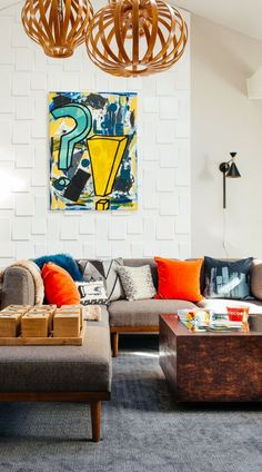 modern eclectic fami