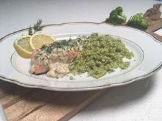 Recept: Zalm met broccolirijst en room-citroensaus