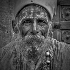 Photograph Old Man from Jaisalmer by Pierre Versailles on 500px