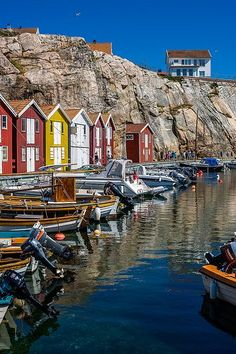 Smögen, Sweden. West coast of Sweden, ~ 1.5 hours north of Gothenburg