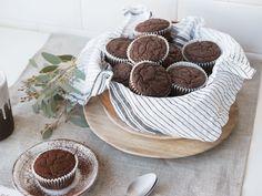 Paleo Muffin - Saftig, schokoladig, fluffig - so müssen Schokomuffins sein.