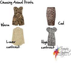 choosing animal prints