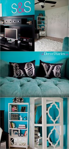 The Decor Diaries By Scarlett Lillian: Mission Cute Office Makeover.