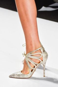 The 50 Best Shoes at NY Fashion Week | StyleCaster Badgley Mischka