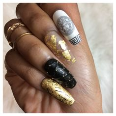 Versace Inspired Press-on Nails