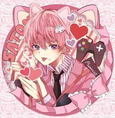 Cute Anime Boy, Anime Guys, Anime Guy Long Hair, Anime Manga, Anime Art, Yoda Drawing, Anime Demon Boy, Chibi Boy, Anime Best Friends