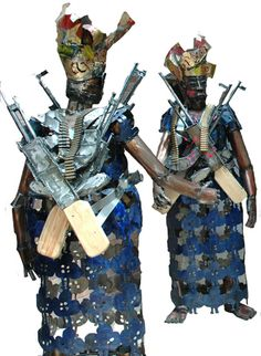 Sokari Douglas Camp is a sculptor. Her primary material is steel and her sculptures refer to her Nigerian roots and international issues. She is one of the winners of the memorial for Ken Saro-Wiwa in...