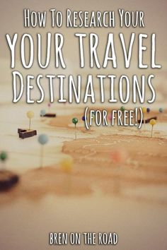 You don't need to travel with expensive guidebooks. In this post we explore all the free tools and tips available for you to plan your own trips. Become your own travel agent and learn how to research all your destinations (for free!)