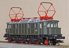 Germany, Model Train, Electric Locomotive, E17 #germany, #modeltrain, #electriclocomotive, #e17