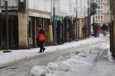 La nieve cubre Reinosa