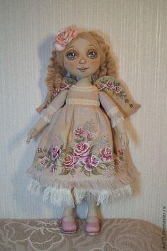 Купить Кирочка - разноцветный, авторская ручная работа, авторская кукла, ручная работа, кукла