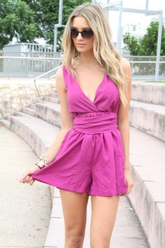 magenta backless romper   - Everyone. I just got some new shoes and a nice dress from here for CHEAP! Check out the amazing sale. http://www.superspringsales.com